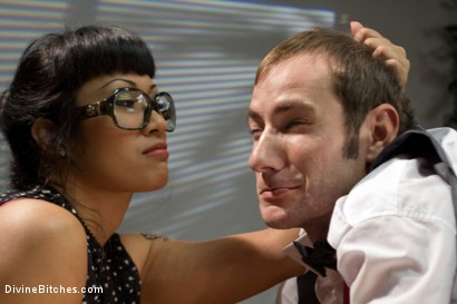 Photo number 11 from Hot For Teacher shot for Divine Bitches on Kink.com. Featuring Nomad, January Seraph and DragonLily in hardcore BDSM & Fetish porn.