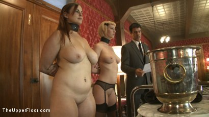 Photo number 14 from Sex slaves go to work for sadistic Masters and Mistresses shot for The Upper Floor on Kink.com. Featuring Cherry Torn and Bella Rossi in hardcore BDSM & Fetish porn.