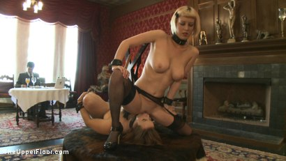 Photo number 13 from Sex slaves go to work for sadistic Masters and Mistresses shot for The Upper Floor on Kink.com. Featuring Cherry Torn and Bella Rossi in hardcore BDSM & Fetish porn.
