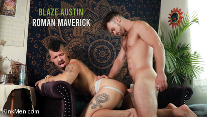 Blaze Austin & Roman Maverick Have Some Fucking Fun! RAW