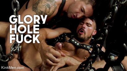 Glory Hole Fuck: Aarin & Dominic Suck & Fuck