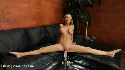 Photo number 2 from Blond FireCracker puts out her O flames with her Squirt shot for Fucking Machines on Kink.com. Featuring Madison Scott in hardcore BDSM & Fetish porn.