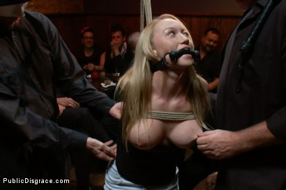 Photo number 2 from Mouthy but Sexy as Hell shot for Public Disgrace on Kink.com. Featuring Mark Davis and Madison Scott in hardcore BDSM & Fetish porn.