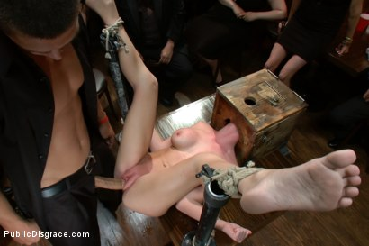 Photo number 11 from Mouthy but Sexy as Hell shot for Public Disgrace on Kink.com. Featuring Mark Davis and Madison Scott in hardcore BDSM & Fetish porn.