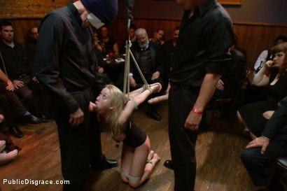 Photo number 14 from Mouthy but Sexy as Hell shot for Public Disgrace on Kink.com. Featuring Mark Davis and Madison Scott in hardcore BDSM & Fetish porn.