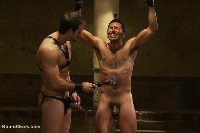 Photo number 10 from Subspace shot for Bound Gods on Kink.com. Featuring Phenix Saint and Gianni Luca in hardcore BDSM & Fetish porn.