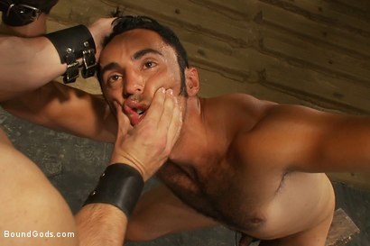 Photo number 3 from Subspace shot for Bound Gods on Kink.com. Featuring Phenix Saint and Gianni Luca in hardcore BDSM & Fetish porn.
