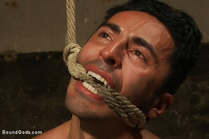 Photo number 6 from Subspace shot for Bound Gods on Kink.com. Featuring Phenix Saint and Gianni Luca in hardcore BDSM & Fetish porn.