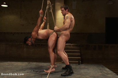 Photo number 13 from Subspace shot for Bound Gods on Kink.com. Featuring Phenix Saint and Gianni Luca in hardcore BDSM & Fetish porn.