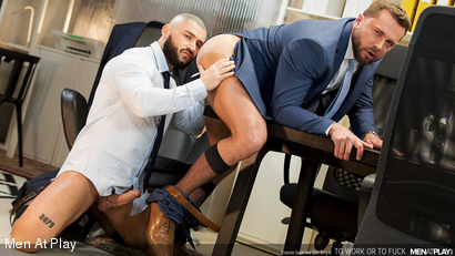 TO WORK OR TO FUCK: Francois Sagat & Tyler Berg