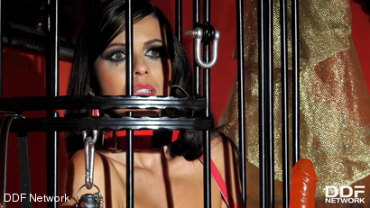 Milf in A Cage