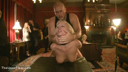 Photo number 7 from Mark Davis' Birthday shot for The Upper Floor on Kink.com. Featuring Cherry Torn and Bella Rossi in hardcore BDSM & Fetish porn.