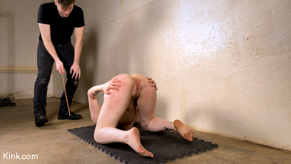 Photo number 4 from Back to Basics: Real-life BDSM training shot for Kinky Bites on Kink.com. Featuring Lucas Ayers and Hazel Paige in hardcore BDSM & Fetish porn.