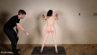 Photo number 6 from Back to Basics: Real-life BDSM training shot for Kinky Bites on Kink.com. Featuring Lucas Ayers and Hazel Paige in hardcore BDSM & Fetish porn.