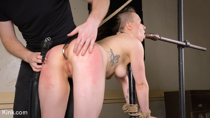 Photo number 11 from Back to Basics: Real-life BDSM training shot for Kinky Bites on Kink.com. Featuring Lucas Ayers and Hazel Paige in hardcore BDSM & Fetish porn.