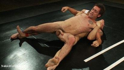 Photo number 8 from Phillip Aubrey vs DJ shot for Naked Kombat on Kink.com. Featuring Phillip Aubrey and DJ in hardcore BDSM & Fetish porn.