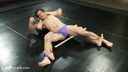 Photo number 1 from Phillip Aubrey vs DJ shot for Naked Kombat on Kink.com. Featuring Phillip Aubrey and DJ in hardcore BDSM & Fetish porn.