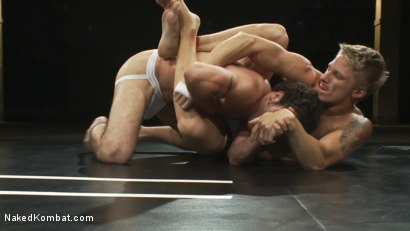 Photo number 3 from Phillip Aubrey vs DJ shot for Naked Kombat on Kink.com. Featuring Phillip Aubrey and DJ in hardcore BDSM & Fetish porn.