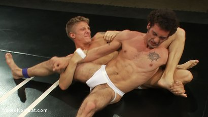 Photo number 4 from Phillip Aubrey vs DJ shot for Naked Kombat on Kink.com. Featuring Phillip Aubrey and DJ in hardcore BDSM & Fetish porn.