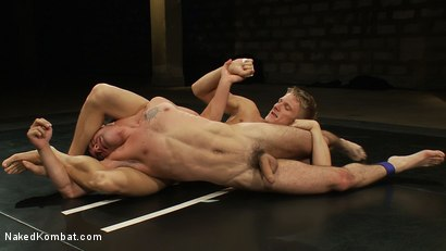 Photo number 5 from Phillip Aubrey vs DJ shot for Naked Kombat on Kink.com. Featuring Phillip Aubrey and DJ in hardcore BDSM & Fetish porn.