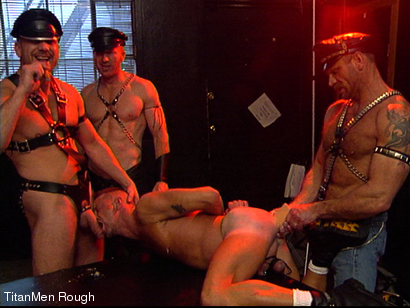 Photo number 12 from FIST DOGS (2 of 4) shot for TitanMen Rough on Kink.com. Featuring Mike Roberts, Keith Webb, Harold Creg, Core Andrews and Marc Masterson in hardcore BDSM & Fetish porn.