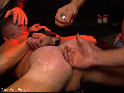 Photo number 17 from FIST DOGS (2 of 4) shot for TitanMen Rough on Kink.com. Featuring Mike Roberts, Keith Webb, Harold Creg, Core Andrews and Marc Masterson in hardcore BDSM & Fetish porn.