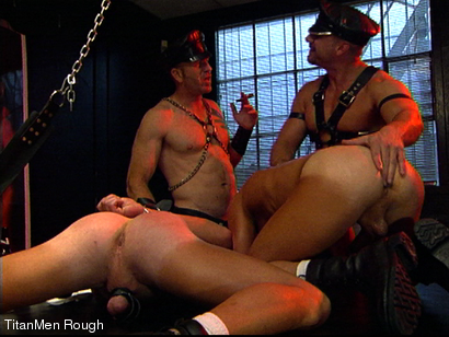 Photo number 34 from FIST DOGS (2 of 4) shot for TitanMen Rough on Kink.com. Featuring Mike Roberts, Keith Webb, Harold Creg, Core Andrews and Marc Masterson in hardcore BDSM & Fetish porn.
