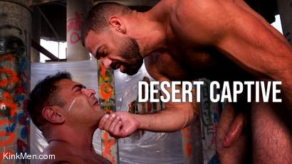 Desert Captive: Ricky Larkin Fucks Draven Navarro Raw