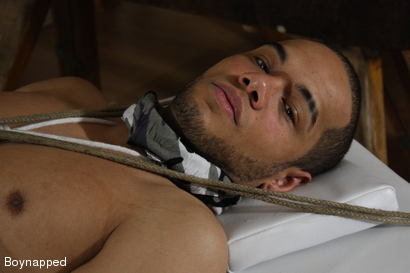 Photo number 2 from First Anal For Straight Nathaniel shot for Boynapped on Kink.com. Featuring Nathaniel Bronze and Leroy Dale in hardcore BDSM & Fetish porn.