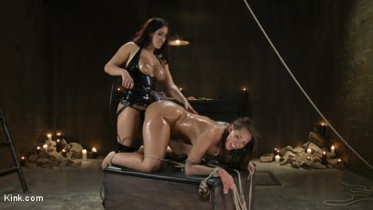 Photo number 15 from Dominatrix Isis Love Vol.1 shot for Kink Compilations on Kink.com. Featuring Isis Love, Sister Dee, Kirra Lynne, Charley Chase, Ally Ann, Sea J Raw, Felony, Mia Lelani and Kelly Divine in hardcore BDSM & Fetish porn.