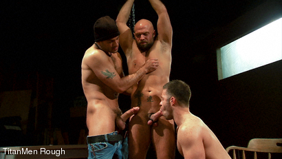 ABUSE OF POWER: Tony Buff with Tristan Jaxx and Ridge Kane
