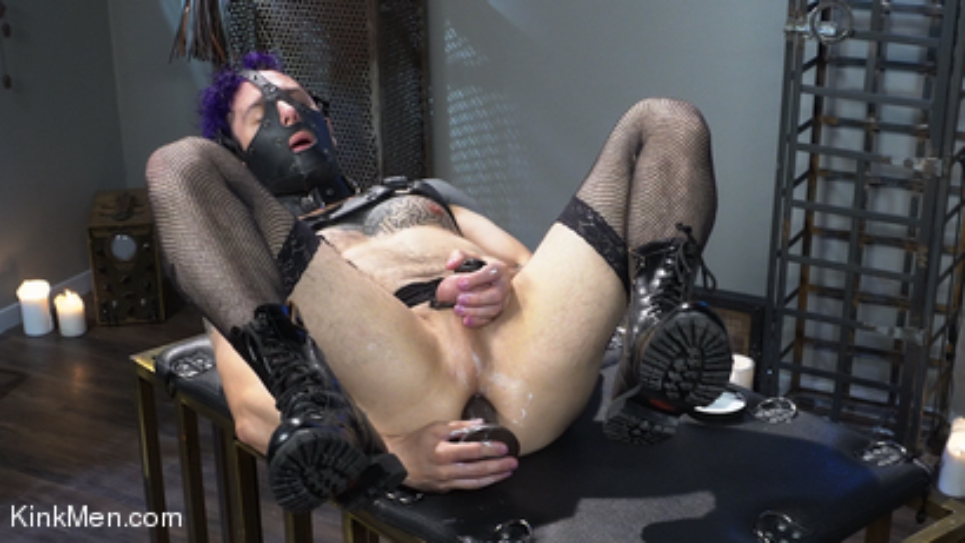 Photo number 3 from Corbin Dallas Is The Sneak shot for Kinky Bites Men on Kink.com. Featuring Corbin Dallas in hardcore BDSM & Fetish porn.