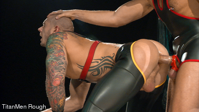Photo number 5 from VIOLATED: Lance Navarro & Harley Everett  shot for TitanMen Rough on Kink.com. Featuring Lance Navarro and Harley Everett in hardcore BDSM & Fetish porn.