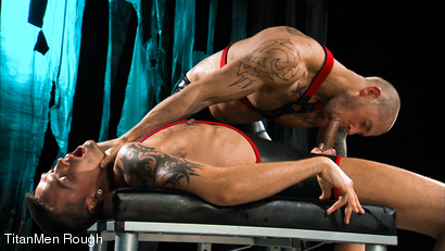 Photo number 6 from VIOLATED: Lance Navarro & Harley Everett  shot for TitanMen Rough on Kink.com. Featuring Lance Navarro and Harley Everett in hardcore BDSM & Fetish porn.