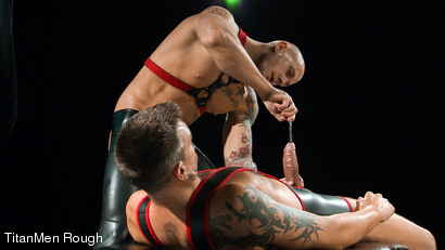 Photo number 8 from VIOLATED: Lance Navarro & Harley Everett  shot for TitanMen Rough on Kink.com. Featuring Lance Navarro and Harley Everett in hardcore BDSM & Fetish porn.