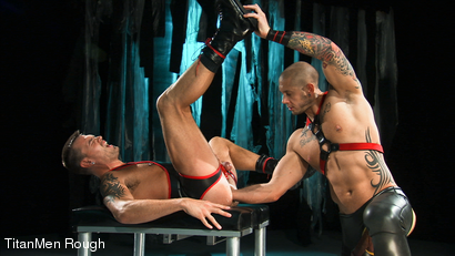 Photo number 16 from VIOLATED: Lance Navarro & Harley Everett  shot for TitanMen Rough on Kink.com. Featuring Lance Navarro and Harley Everett in hardcore BDSM & Fetish porn.
