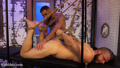 Photo number 2 from Foot Fanatic shot for Kinky Bites Men on Kink.com. Featuring Ricky Larkin and Brian Bonds in hardcore BDSM & Fetish porn.