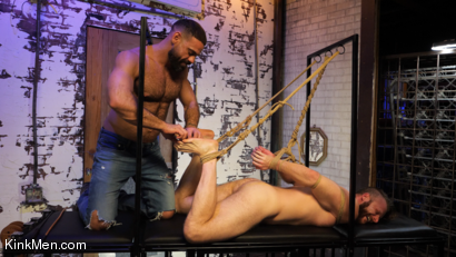 Photo number 7 from Foot Fanatic shot for Kinky Bites Men on Kink.com. Featuring Ricky Larkin and Brian Bonds in hardcore BDSM & Fetish porn.