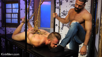 Photo number 9 from Foot Fanatic shot for Kinky Bites Men on Kink.com. Featuring Ricky Larkin and Brian Bonds in hardcore BDSM & Fetish porn.