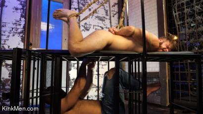 Photo number 14 from Foot Fanatic shot for Kinky Bites Men on Kink.com. Featuring Ricky Larkin and Brian Bonds in hardcore BDSM & Fetish porn.
