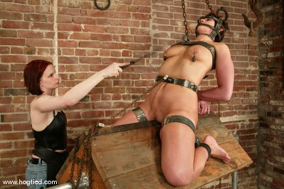 Photo number 9 from Kat and Claire Adams shot for Hogtied on Kink.com. Featuring Kat and Claire Adams in hardcore BDSM & Fetish porn.