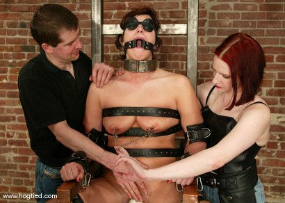 Photo number 5 from Kat and Claire Adams shot for Hogtied on Kink.com. Featuring Kat and Claire Adams in hardcore BDSM & Fetish porn.