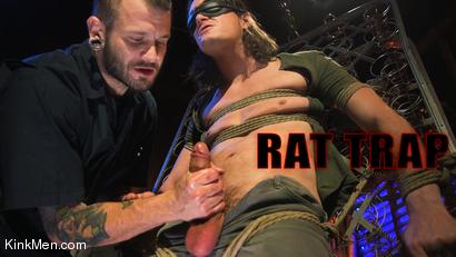 Rat Trap: Tony Orlando Bound and Fucked by Johnny Hill RAW