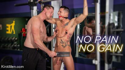 No Pain No Gain: Vincent O'Reilly Takes Pierce Paris' Monster Cock