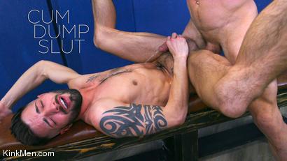 Cum Dump Slut: Johnny Ford and Casey Everett RAW