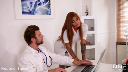 Photo number 4 from Kinky Doc Makes Nurse Squirt shot for houseoftaboo on Kink.com. Featuring Venus Afrodita and Vince Carter in hardcore BDSM & Fetish porn.