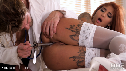 Photo number 34 from Kinky Doc Makes Nurse Squirt shot for houseoftaboo on Kink.com. Featuring Venus Afrodita and Vince Carter in hardcore BDSM & Fetish porn.