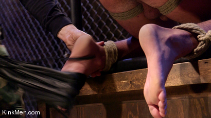 Photo number 9 from Jett Jax & Wolf Hudson: Dirty Cop Caught in a Trap! shot for KinkMen Classics on Kink.com. Featuring Wolf Hudson and Jett Jax in hardcore BDSM & Fetish porn.