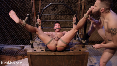 Photo number 15 from Jett Jax & Wolf Hudson: Dirty Cop Caught in a Trap! shot for KinkMen Classics on Kink.com. Featuring Wolf Hudson and Jett Jax in hardcore BDSM & Fetish porn.