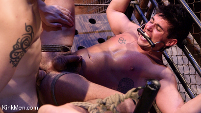 Photo number 21 from Jett Jax & Wolf Hudson: Dirty Cop Caught in a Trap! shot for KinkMen Classics on Kink.com. Featuring Wolf Hudson and Jett Jax in hardcore BDSM & Fetish porn.